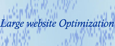 Large website optimization
