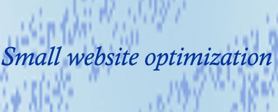 Small Website Optimization