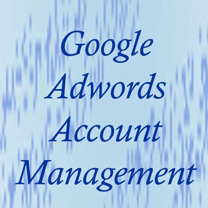 Google Adwords Account management