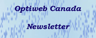 Optiweb Canada Newsletter